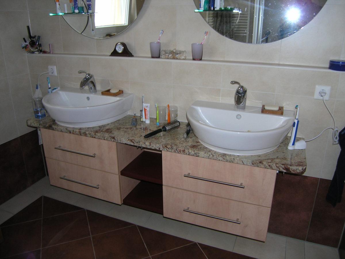 schöne Badschränke unter bestehende Waschtischplatte