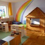 Spielecke Kindergarten Spielhaus aus Holz