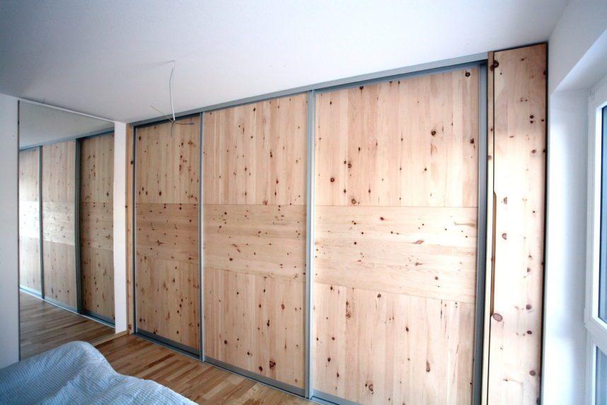 Tolles Schlafzimmer aus duftendem Zirbenholz | Schreinerei Burkhardt