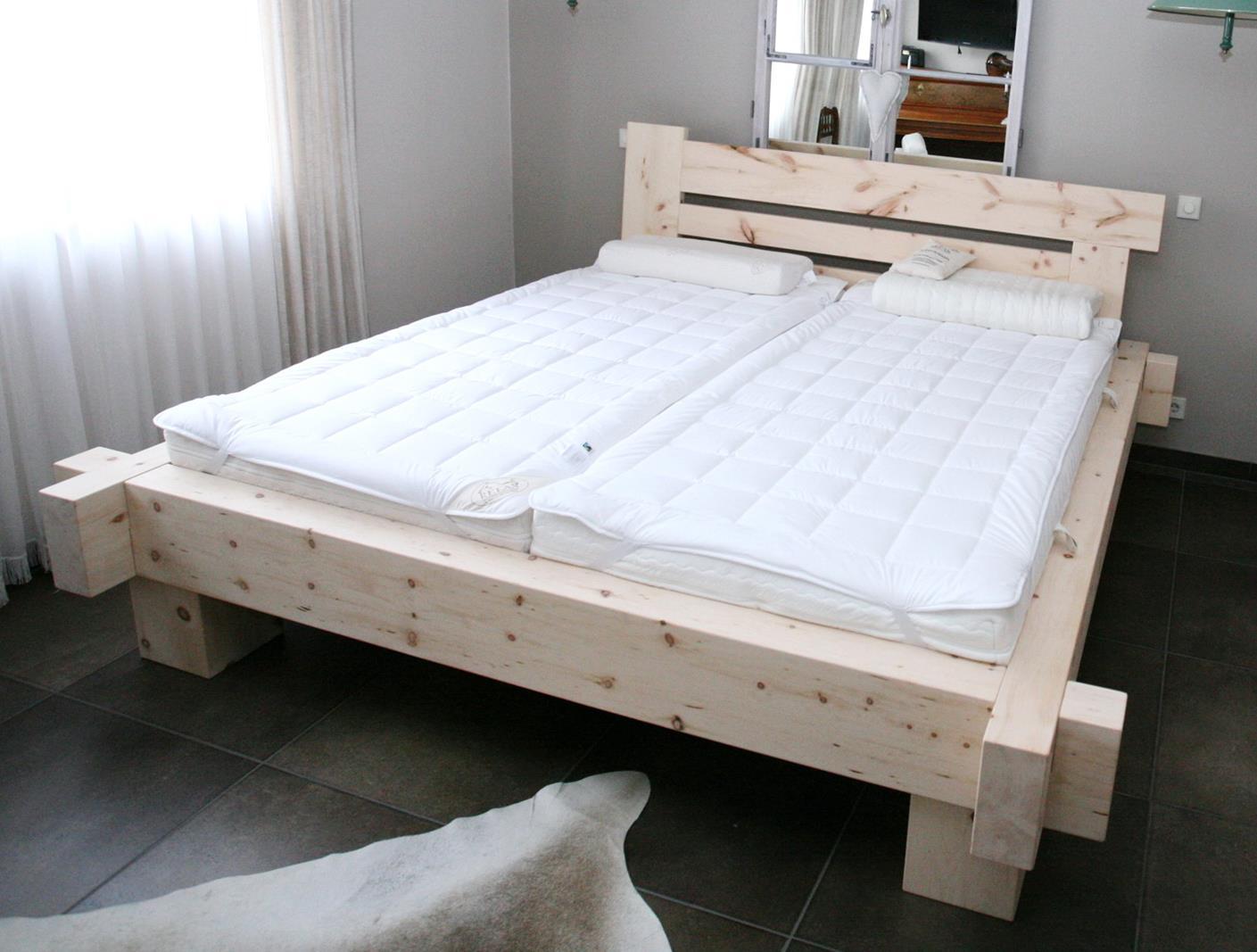 Balkenbett zirbe  Zirbenholz - für bessere Gesundheit - bei der Schreinerei Burkhardt
