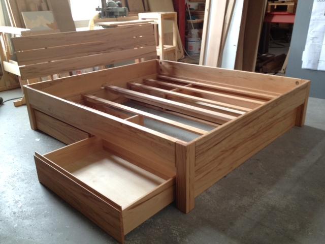 doppelbett carina mit schubkastenmodul schreinerei burkhardt. Black Bedroom Furniture Sets. Home Design Ideas