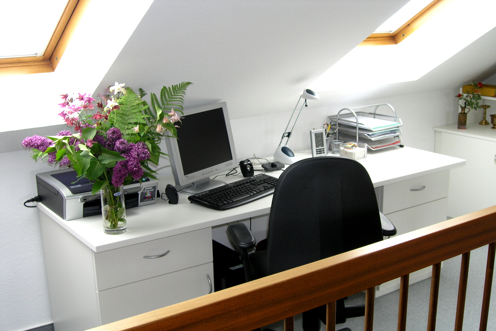 praktisches Home Office
