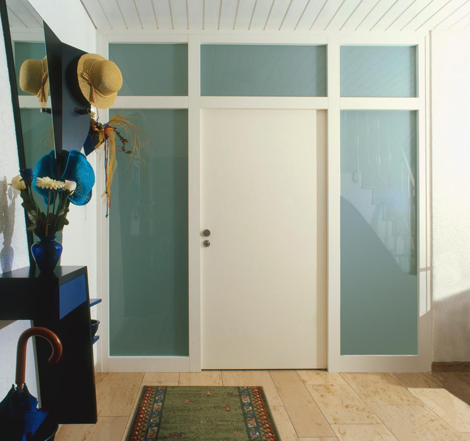 perfekt eingepasste Zimmertüre in weiß