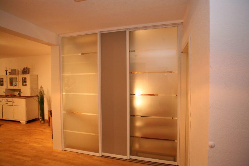 Schiebetüren, Treppenhaus, Glas