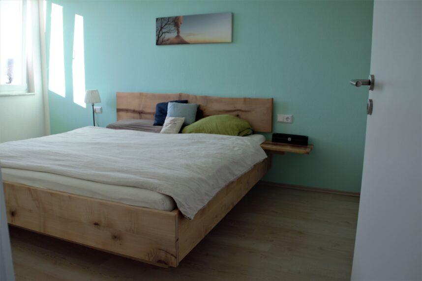 Ahornbett Schlafzimmer